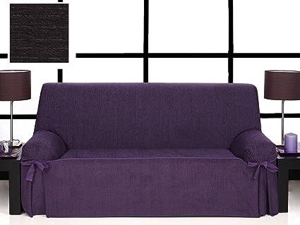 textil-home Funda de Sofá con lazos KIOTO, 1 plaza - Desde ...