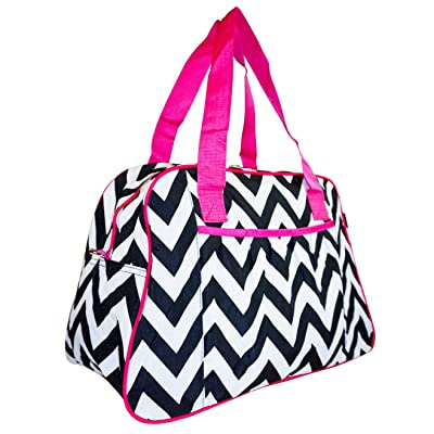 Kari-Mate Chevron Carry-On Overnight Bag