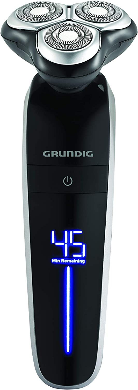 GRUNDIG MS 7640 - Afeitadora rotativa, color negro: Amazon.es ...