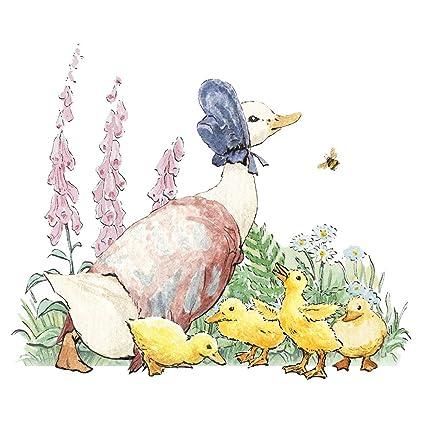 Beatrix Potter Jemima Puddle Duck tarjeta de felicitación ...