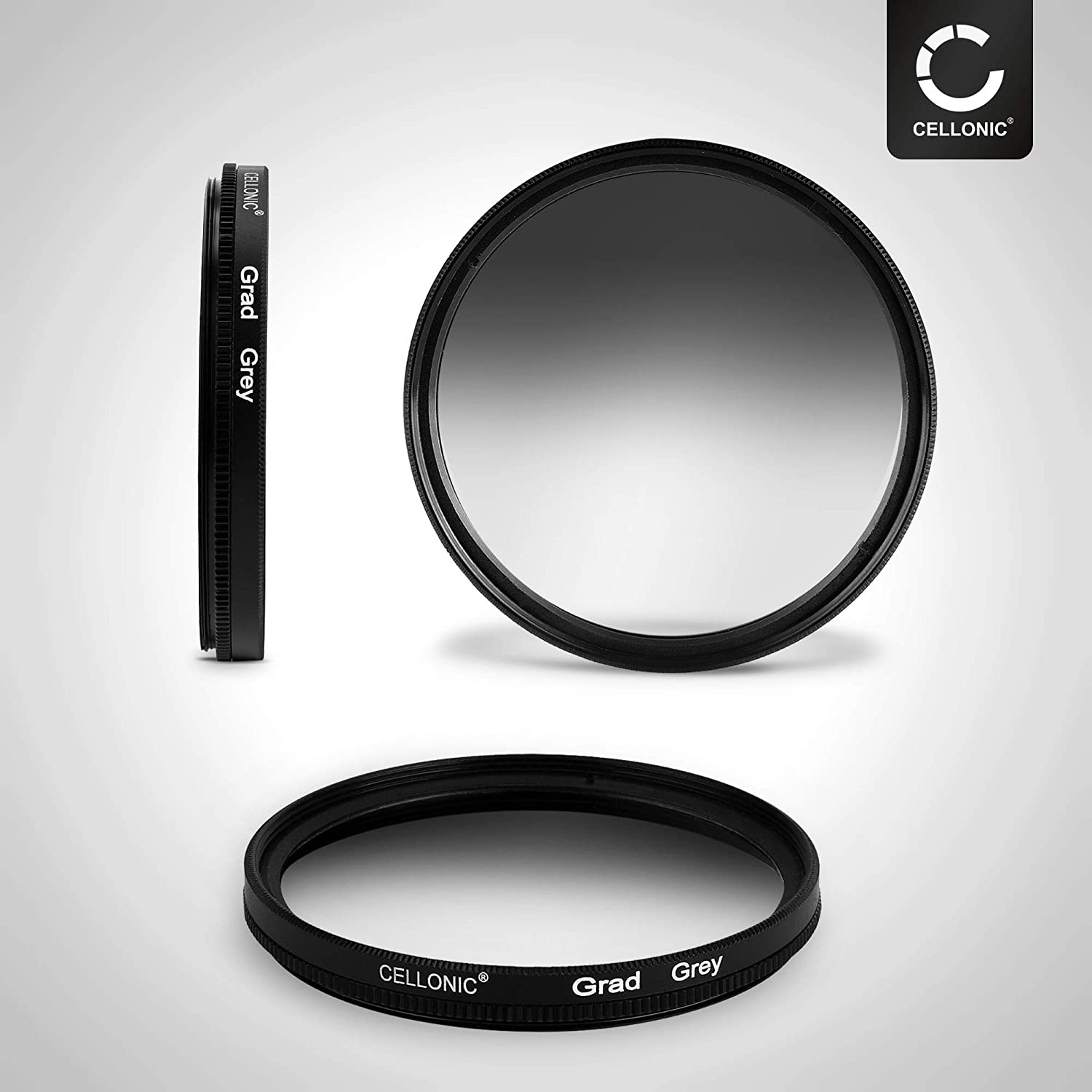 CELLONIC Graduated filter Gradient compatible with Zeiss Distagon 82mm Gradient Filter