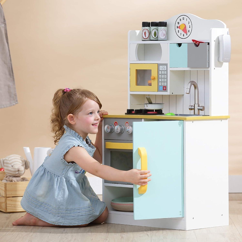 TD-11708P Teamson Kids Florence Kitchen Jugar cocina Color rosa