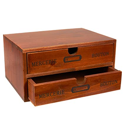 Merveilleux Organizer Holder Storage Drawers   Decorative Wooden Drawers With Chic  French Design   9.75 X 7
