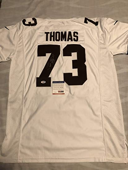 size 40 fffa3 f821d Joe Thomas Autographed Signed Cleveland Browns Jersey Future ...