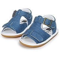 Morrivoe Sandalias para Niños Bebés Zapatillas Zapatos Casuales Zapatilla Antideslizante Sandalias de Verano Zapatos de Prewalker para Niños Pequeños con Suela Blanda