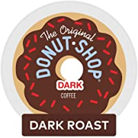 The Original Donut Shop Dark, Single-Serve Keurig K-Cup Pods, Dark Roast Coffee, 72 Count