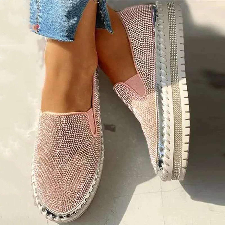 MTHDD Zapatos de Lona Zapatos Planos Zapatos otoño Mujeres de la Vendimia de Las Mujeres Ocasionales