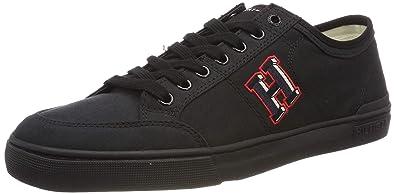 5fa1fa7501faf Tommy Hilfiger Herren CORE Corporate Seasonal Sneaker, Schwarz (Black 990),  40 EU