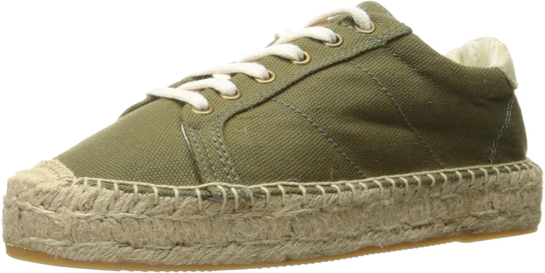 Soludos Women s Canvas Platform Tennis Sneaker Sandal