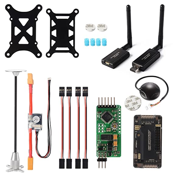 XCSOURCE APM2 8 ArduPilot Flight Controller+6M GPS+915Mhz Telemetry+ Power  Module RC150