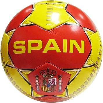 Seleccione España balón de fútbol, Rojo/Amarillo: Amazon.es: Deportes y aire libre