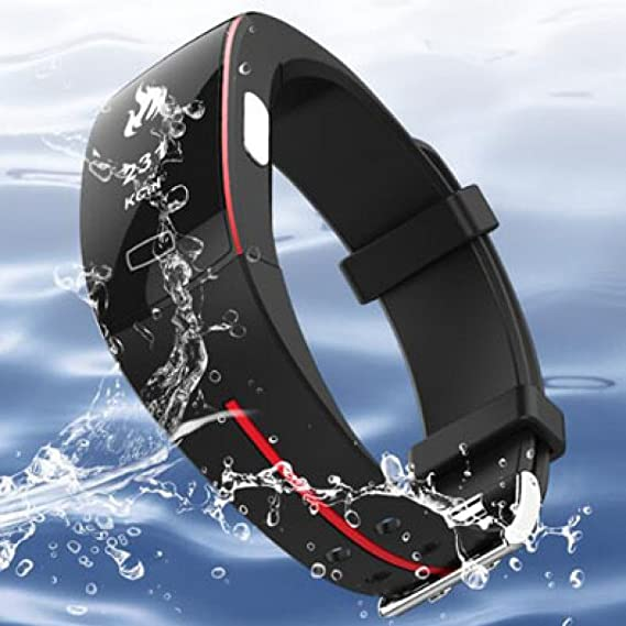 Amazon.com: NQFL Smart Bracelet Heart Rate Blood Pressure ...