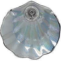 Concha Bautismal en cristal Nacarado con filo