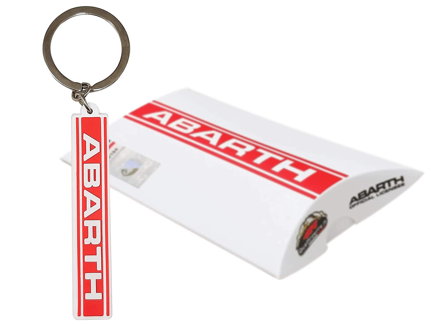 Official Key Ring Abarth Logo