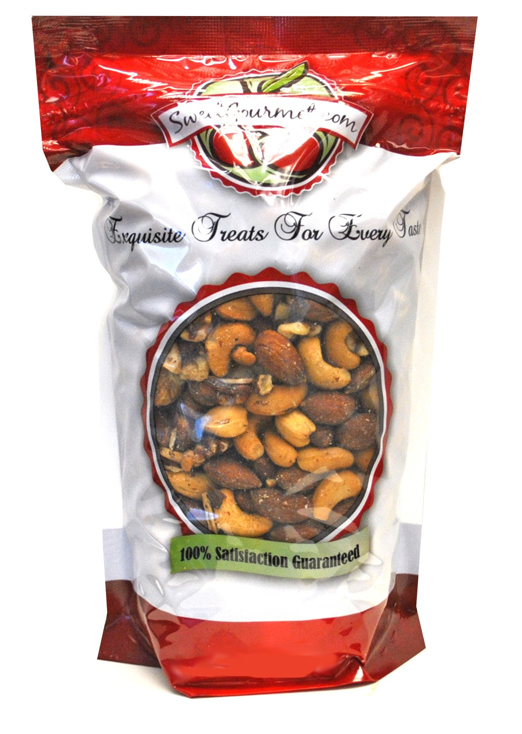 Premium Mixed Roasted Nuts-Unsalted, 2 lb by Green Bulk