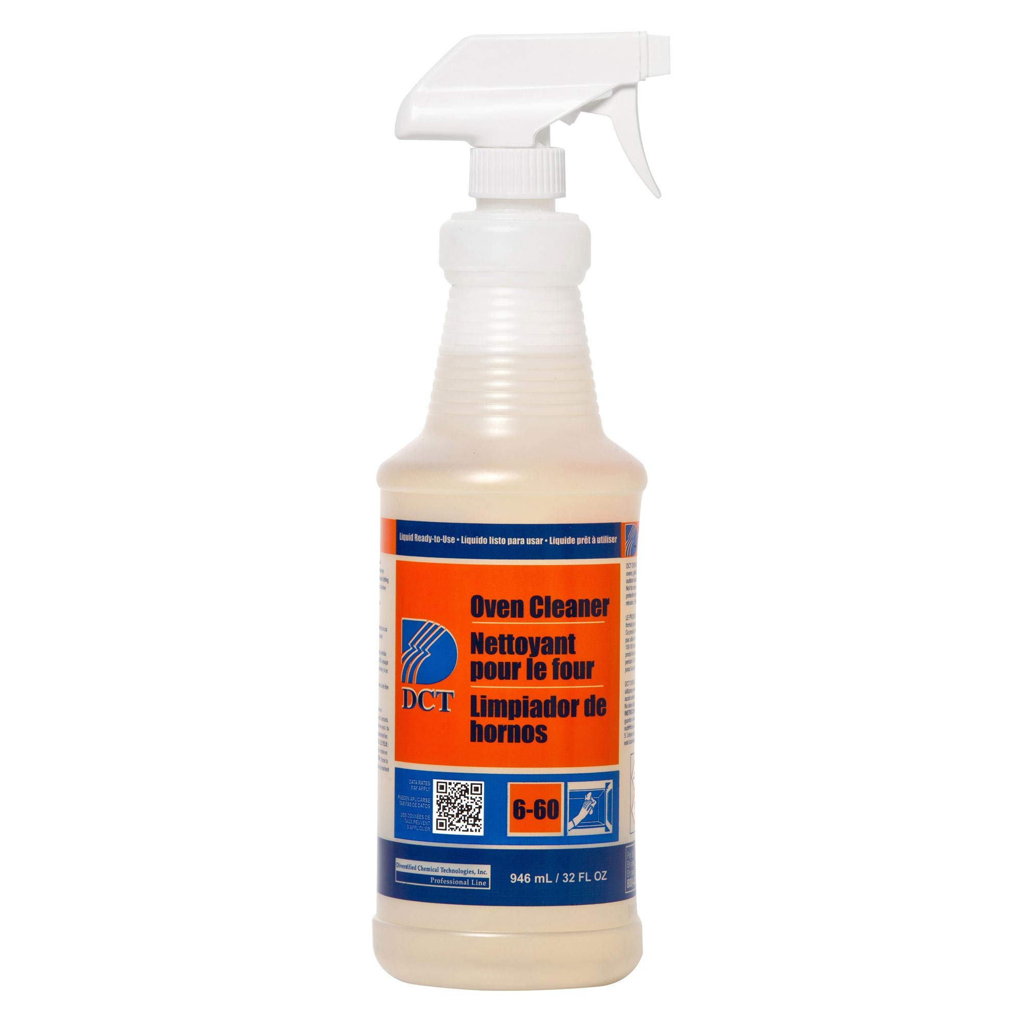 Diversified Chemical Dct Oven Cleaner, Rtu Sprayer, Case of 6/1 Qt, PGC00004 by Procter And Gamble