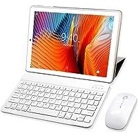 Tablet 10 Pollici YOTOPT, 64 GB Espandibili, 4 GB RAM Tablet PC 4G LTE Android 9.0 Certificato da Google GMS Tablet Pc con 3 Slot (Dual SIM + SD), GPS WIFI (Oro)