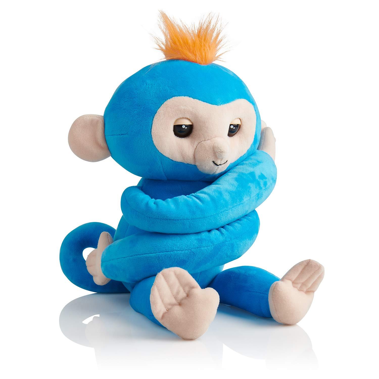 Fingerlings HUGS - BORIS - Friendly Interactive Plush Monkey Toy - by WowWee JAZWARES 3531