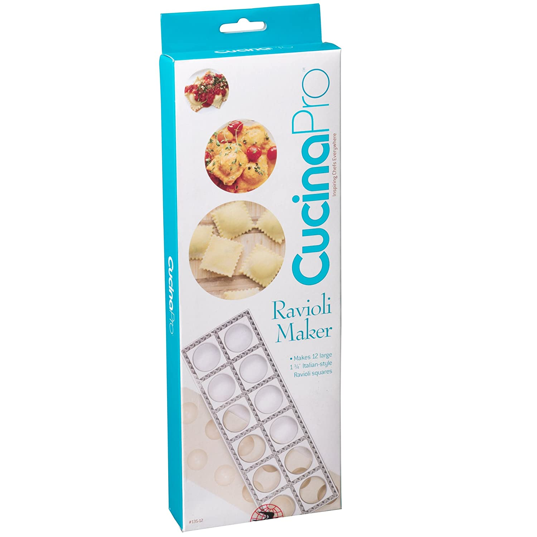 Amazon.com: Ravioli Maker by Cucina Pro - Includes Tray and Press ...