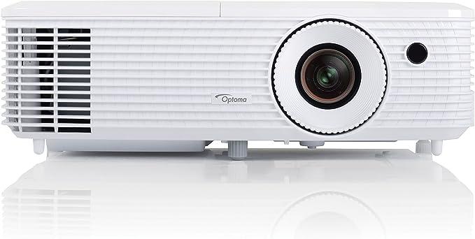 Opinión sobre Optoma HD27 - Proyector, Full HD 1080p, 3200 ANSI Lúmenes, FHD, 2x HDMI, soporte MHL, altavoz integrado de 10 W, color blanco