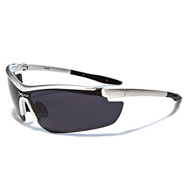 5284c09c46a Mirozi Men s Semi-Rimless Wrap around Sports Sunglasses Colored Lens   Frame