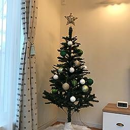 Amazon クリスマスツリースカート 飾り ツリースカート ホワイト ふわふわ オーナメント デコレーション サンタクロース 屋内飾り 円形 白い ふわふわ ホワイト 90cm ツリースカート おもちゃ