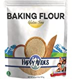 Happy Andes All-Natural Baking Flour 4 lbs - Quinoa-Based Ingredients for Baked Bread - Healthy Alternative to Brownie…