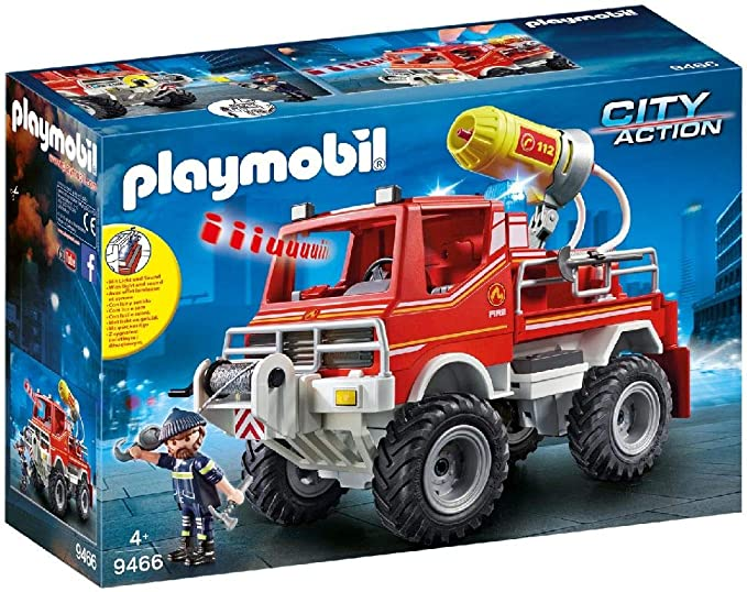 Playmobil 6967 Fire Truck Kid Unisex Fun Toy Perfect Gift New Product