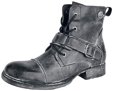 watch e93d3 9fad5 Rock Rebel by EMP Last Man Standing Boot grau