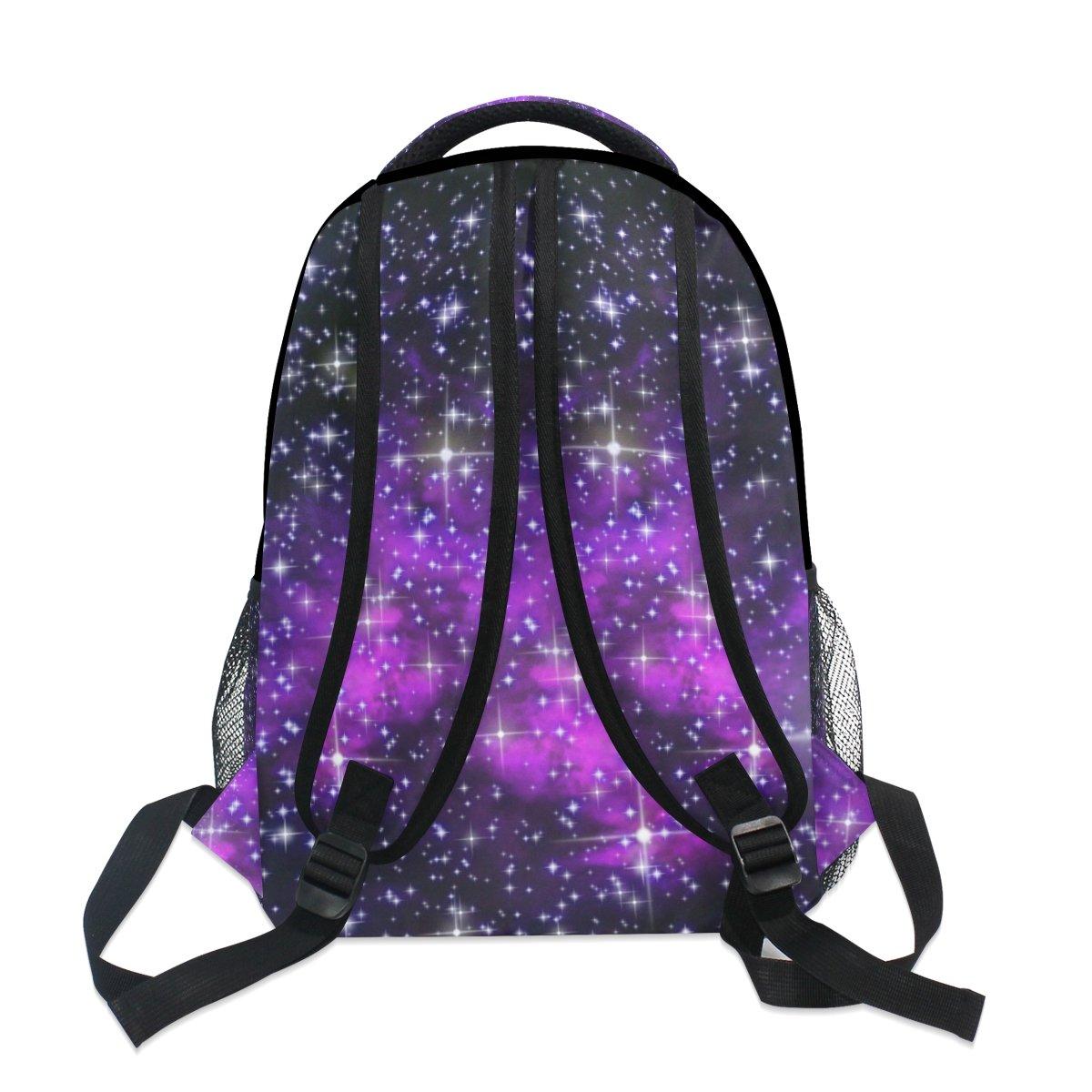 ZZKKO Starry Night Space Star Nebula Mochilas Colegio Libro Bolsa de viaje Senderismo Camping Daypack: Amazon.es: Deportes y aire libre