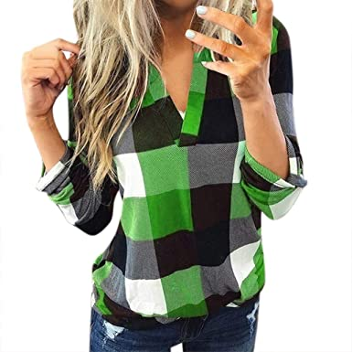 2020 Shirts for Women Casual Roll Up Long Sleeve Tshirt Fashion ...