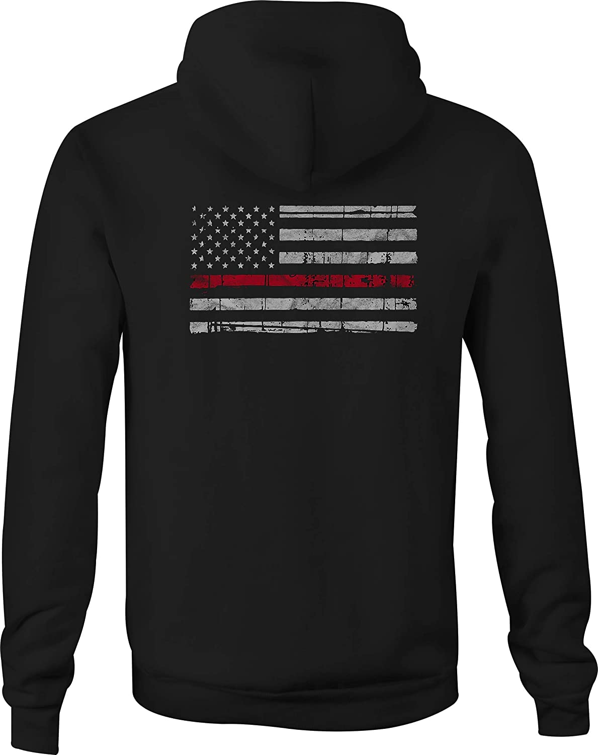Zip Up Hoodie Arizona Map Hooded Sweatshirt for Men