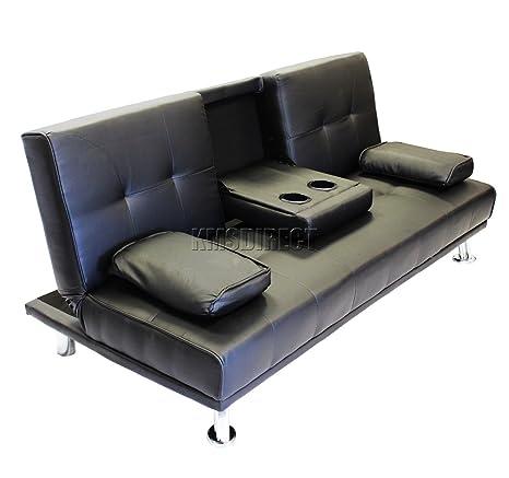 mascarello® piel sillón reclinable y 3 plazas Sofá cama ...