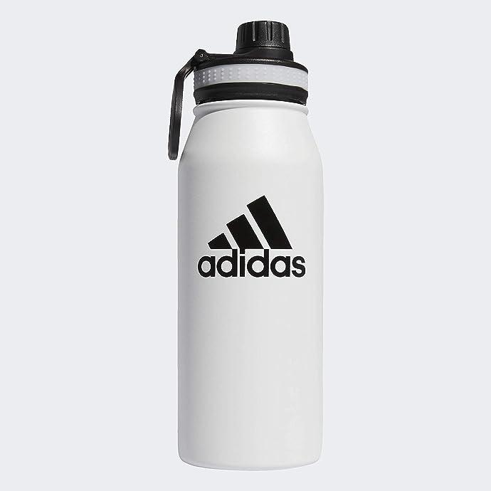 adidas 阿迪达斯 18/8不锈钢 1L 保温水壶 5.5折$16.5 海淘转运到手约¥142