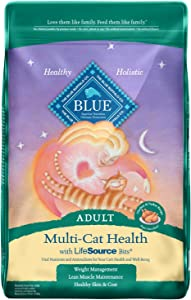 Blue Buffalo Multi-Cat Natural Adult Dry Cat Food