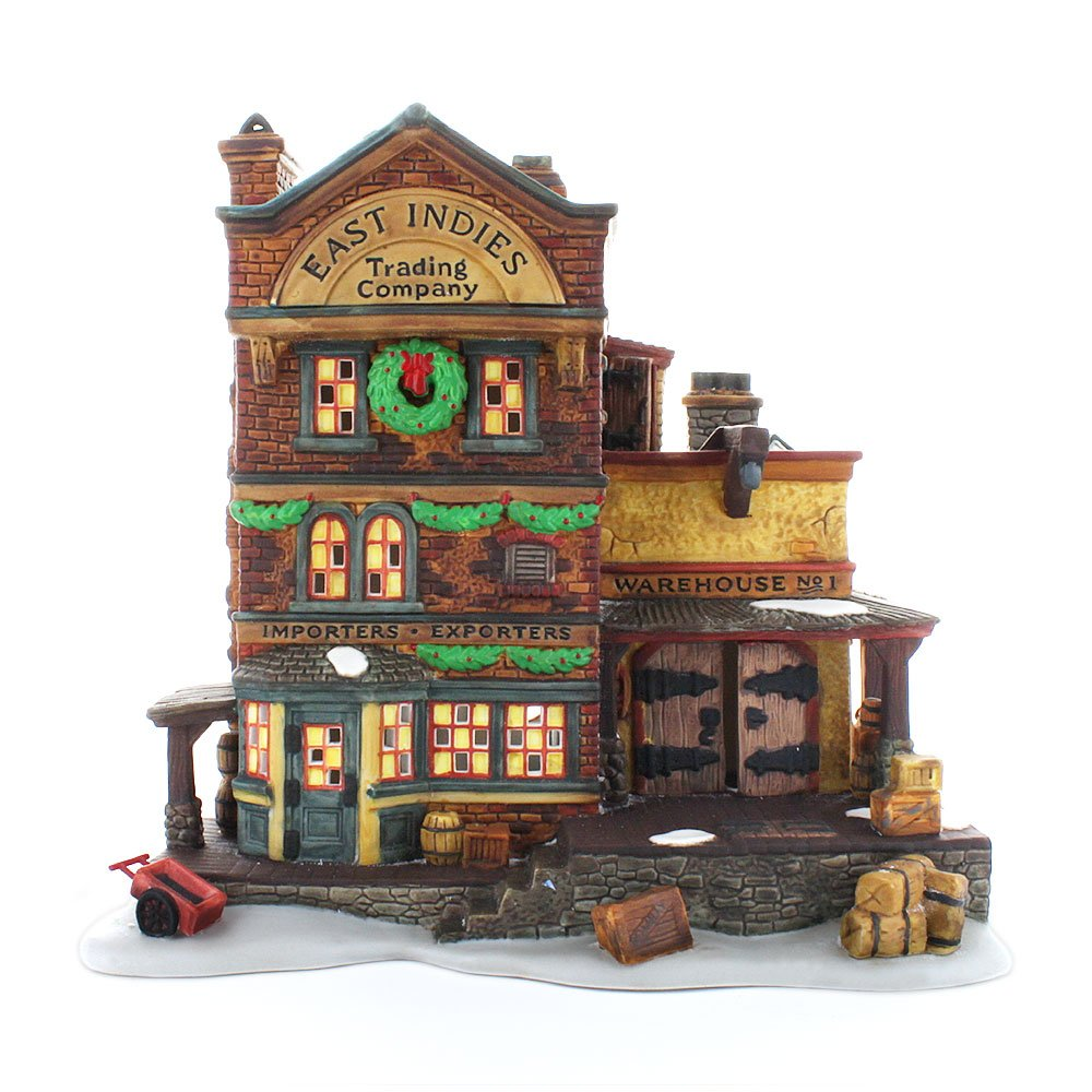 Department 56 'East Indies Trading Co.' Dickens Village Cottage