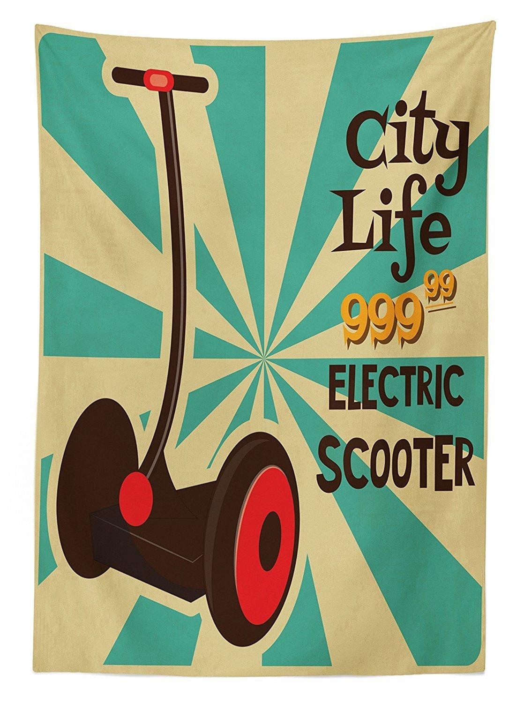 Mantel de decoración Vintage Segway Patinete eléctrico con ...