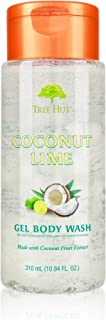 product image for Tree Hut Moisturizing Gel Body Wash Coconut Lime, 10.94oz, Ultra Hydrating Gel Body Wash for Nourishing Essential Body Care