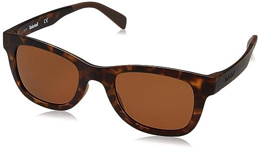 Timberland Sonnenbrille TB9080 5052H Gafas de Sol, Marrón ...