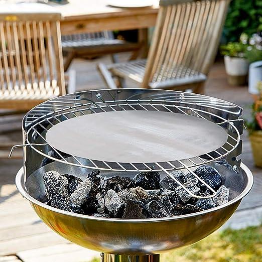 Durandal Antihaft Grill-/& Ofenmatte rund Durchmesser 48cm  Spülmaschinen geeigne