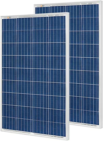 Amazon Com Rich Solar 2 Pieces 100 Watt 12 Volt Polycrystalline Solar Panel High Efficiency Solar Module Charge Battery For Rv Trailer Camper Marine Off Grid Garden Outdoor