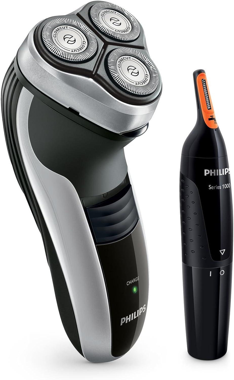 Philips SHAVER Series 3000 HQ6996/80 - Afeitadora (Máquina de afeitar de rotación, CloseCut, 2 año(s), Negro, Gris ...