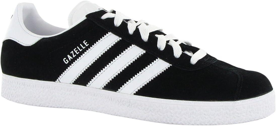 Adidas Gazelle Black White Mens
