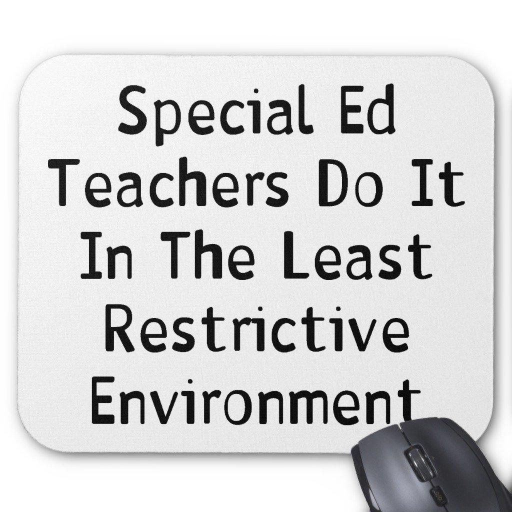 Zazzle Special Ed Teachers Mouse Pad