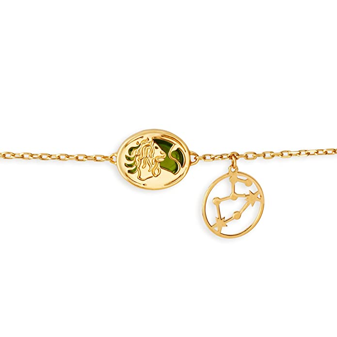 1c96fa4cdec37 Buy Mia by Tanishq 14KT Yellow Gold Leo Bracelet for Women Online at ...