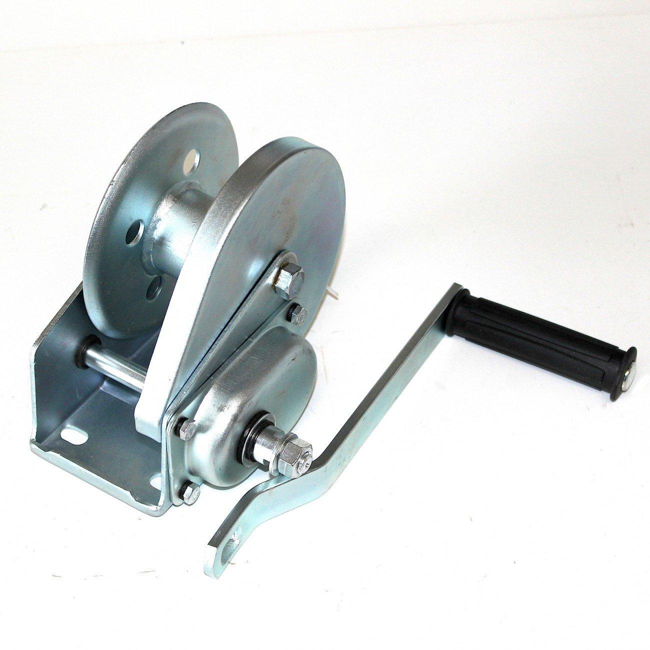 Seilwinde Handbetrieb mit eingebauter Bremse, daher auch zum Heben ...