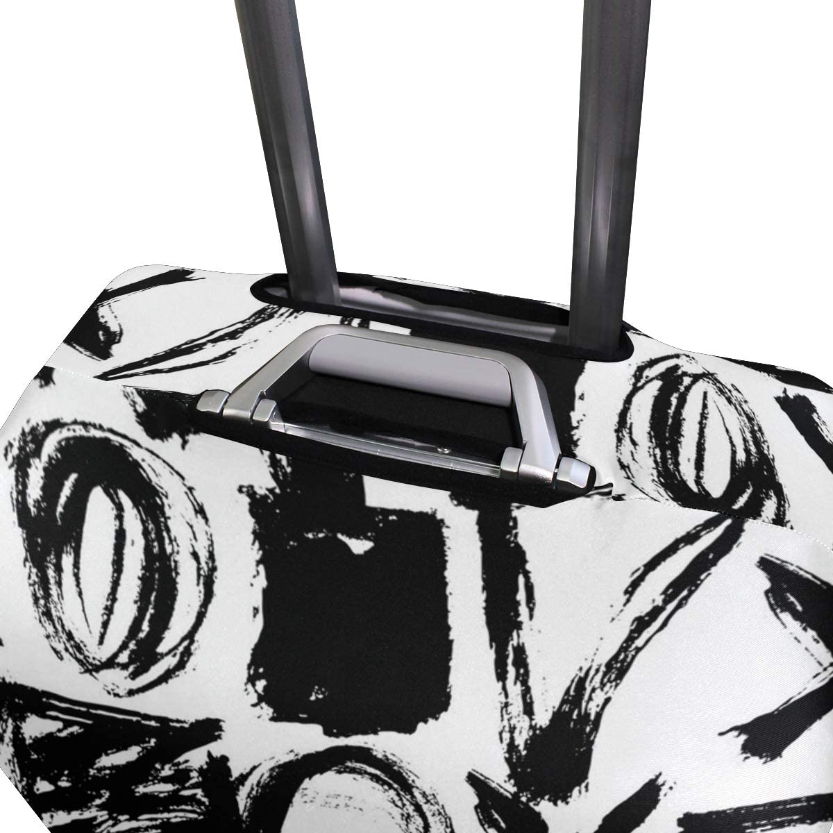 Mathematical Algorithm Geometric Traveler Lightweight Rotating Luggage Protector Case Can Carry With You Can Expand Travel Bag Trolley Rolling Luggage Protector Case