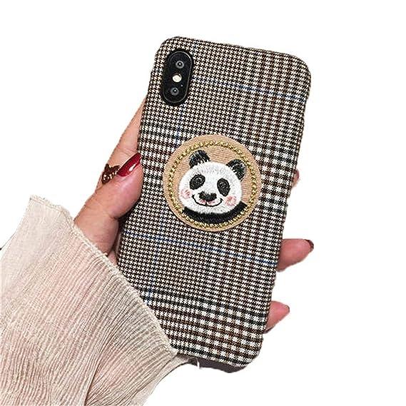 Amazon Com Cute Cat Rabbit Panda Phone Case For Iphone