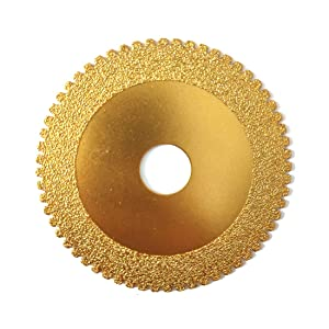 Sipery 4inch Vacuum Brazed Diamond Grinding Wheel Flower Saw Blade Disc for Grinding Granite Marble Concrete