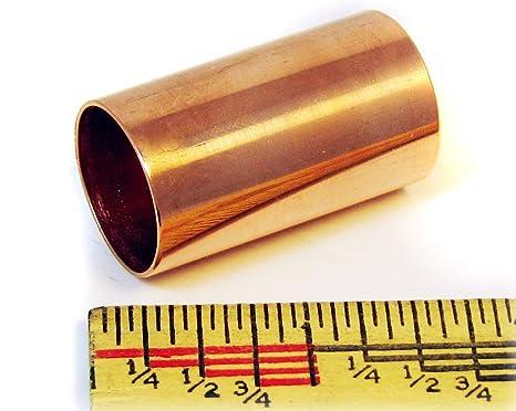 Tubo de cobre pulido